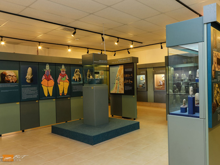 תצוגה במוזיאון